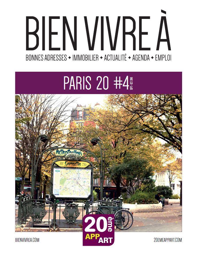 BienVivreÀ Paris 19/20 N°4